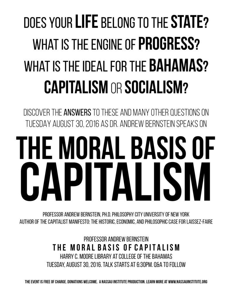 moral basis of capitalism